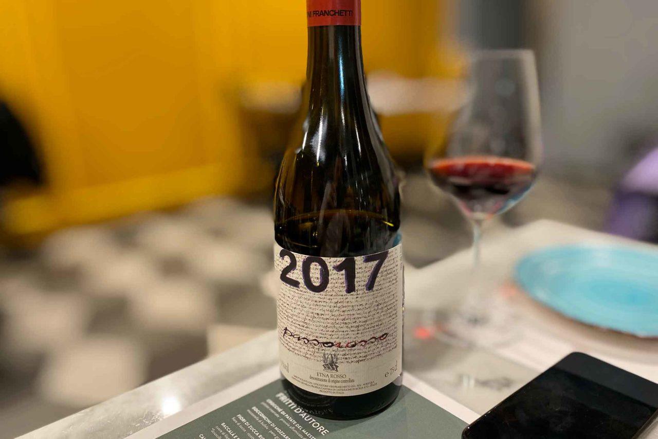 vino Etna Passorosso