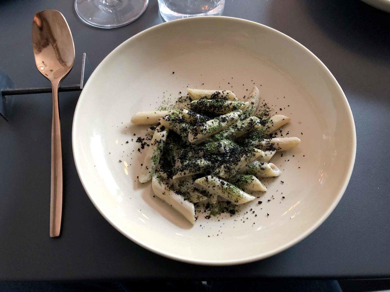 pennette con i funghi ristorante Barred Roma