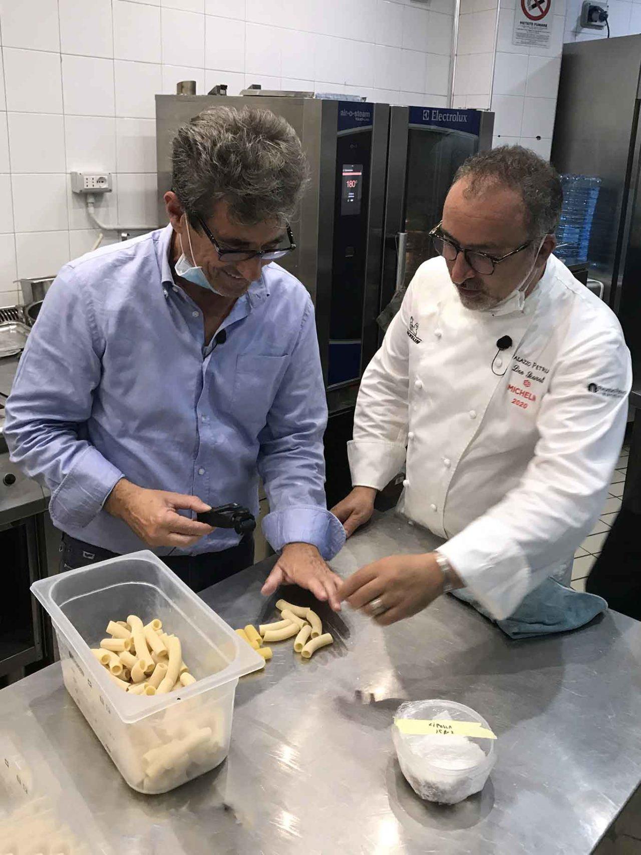 Lino Scarallo e Bernardo Iovene