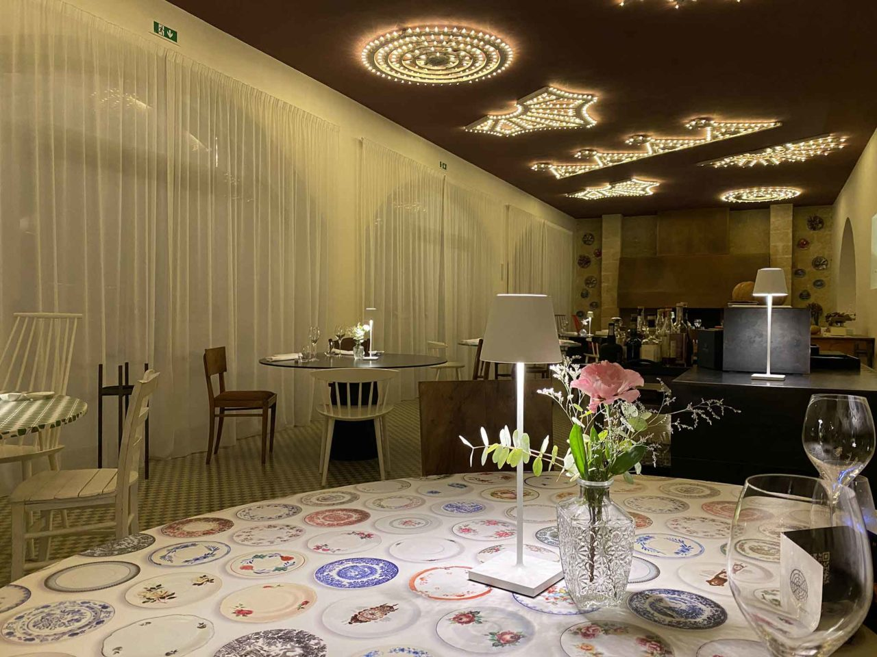 Casamatta Restaurant Manduria Puglia sala