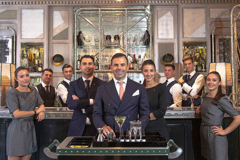 Connaught bar londra team Bargiani Perrone Milia