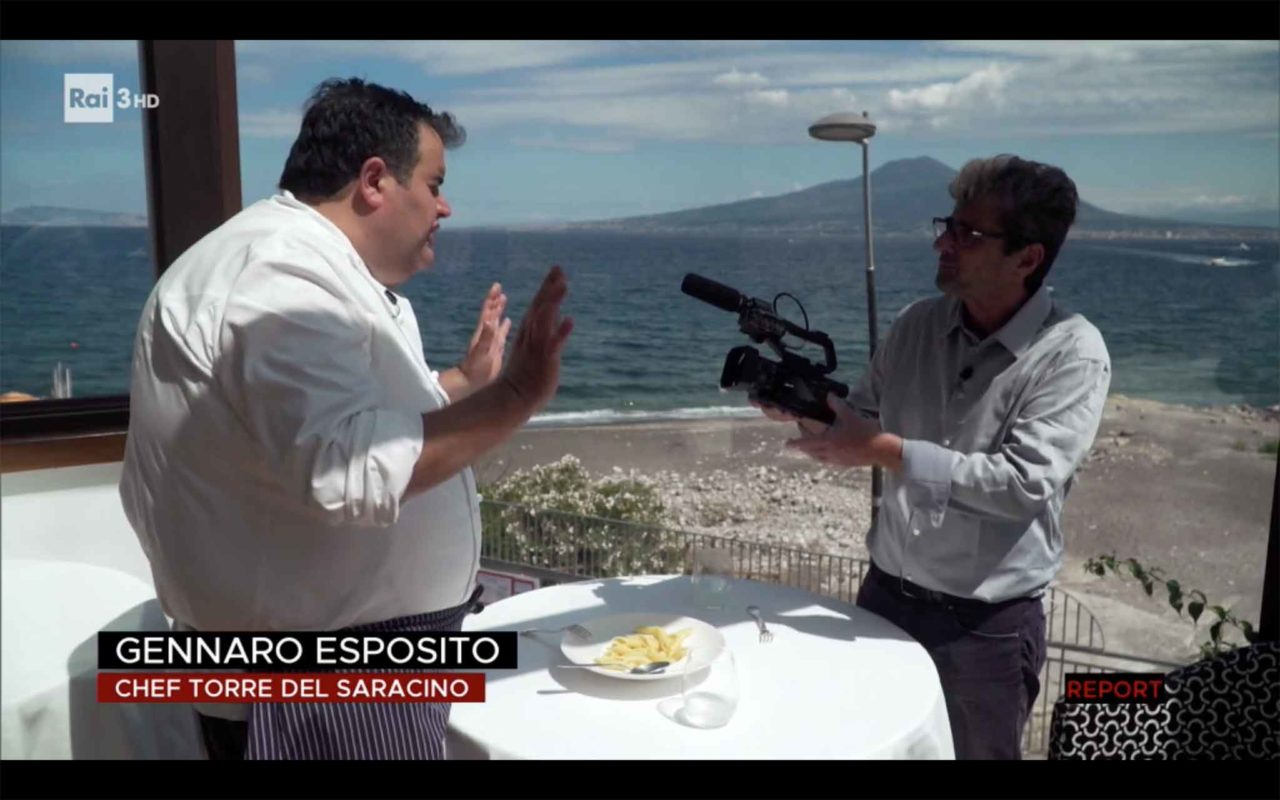 Gennaro Esposito su Report pasta