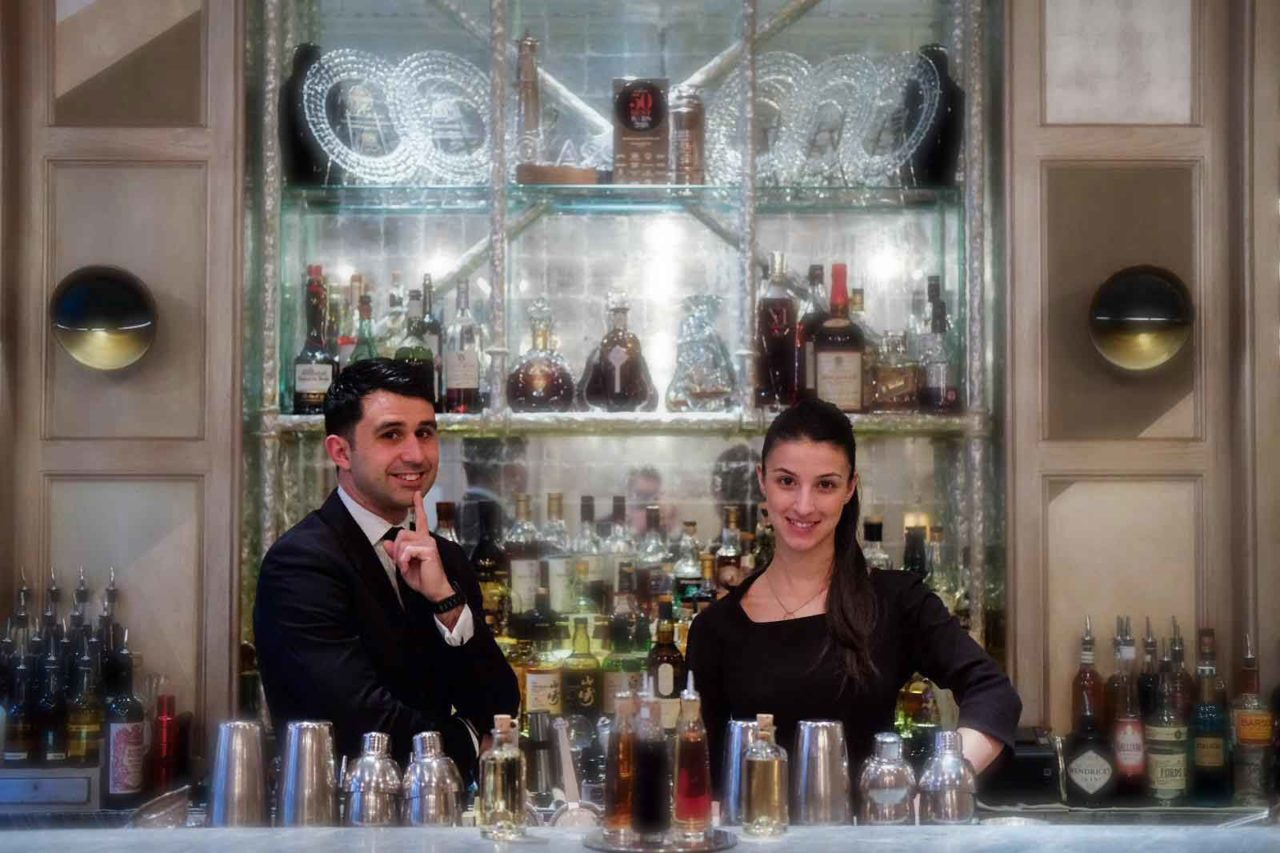 Giorgio Bargiani Maura Milia The Connaught Bar