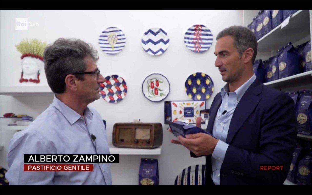 Alberto Zampino pastificio Gentile