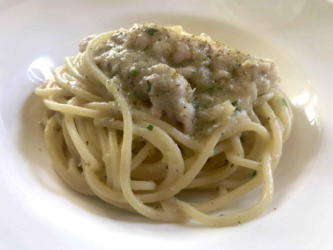 Ristorante Rosenbar Gorizia spaghetti con le canocchie