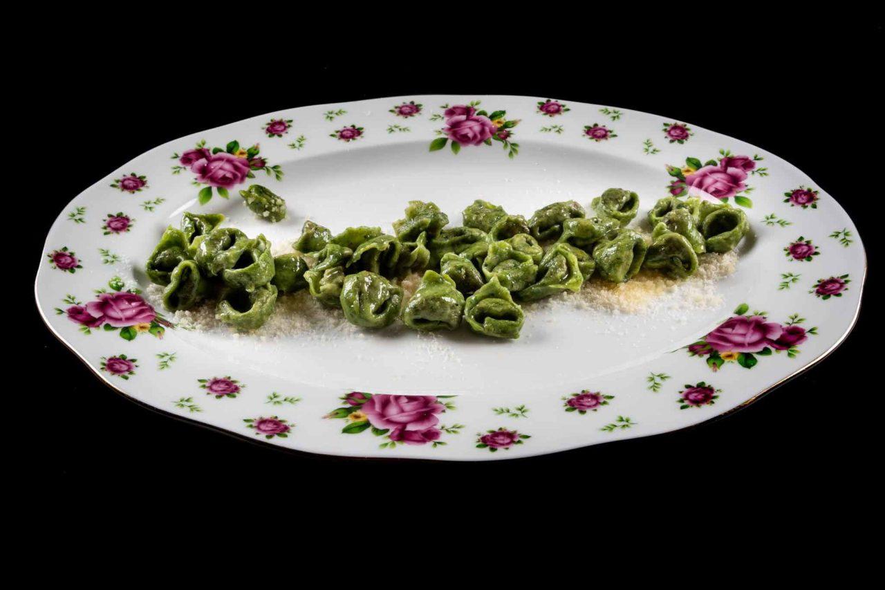 ambasciata quistello piatto tortellini verdi