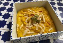 badam ka halwa cittamani dolce indiano mandorle