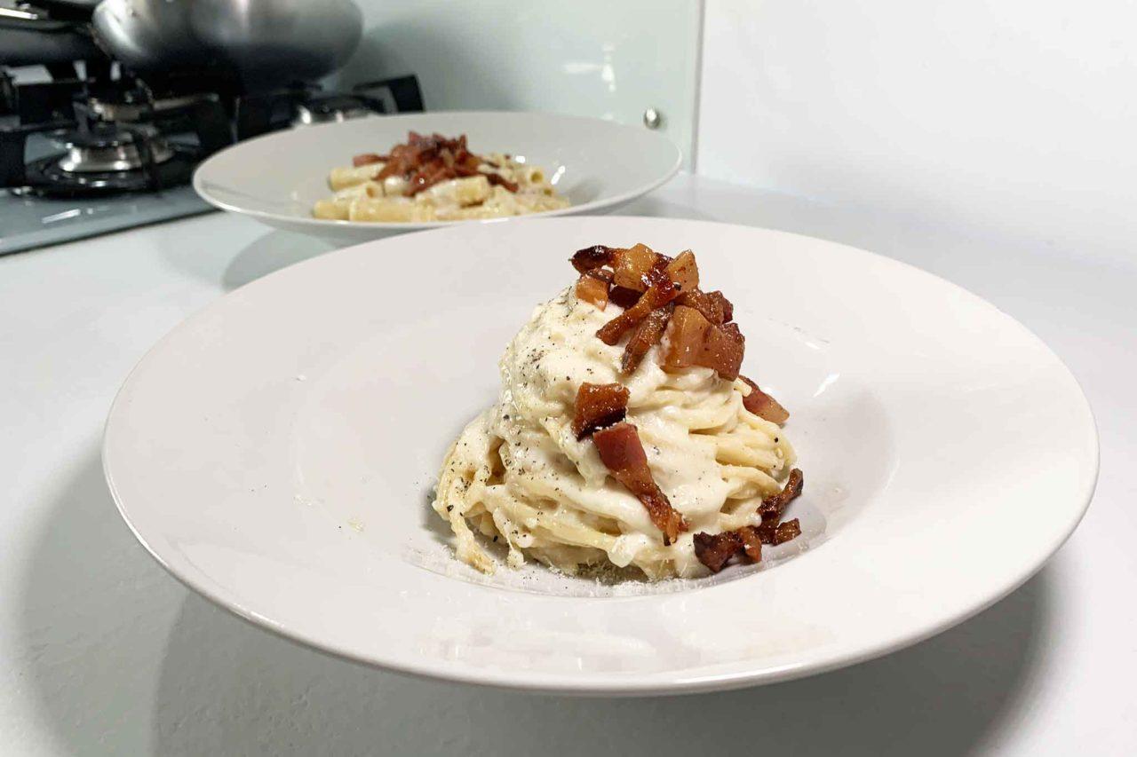 spaghettoni alla gricia