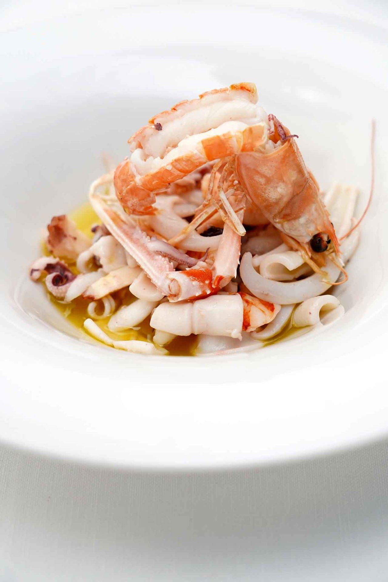 insalata tiepida di mare Pescheria Salerno