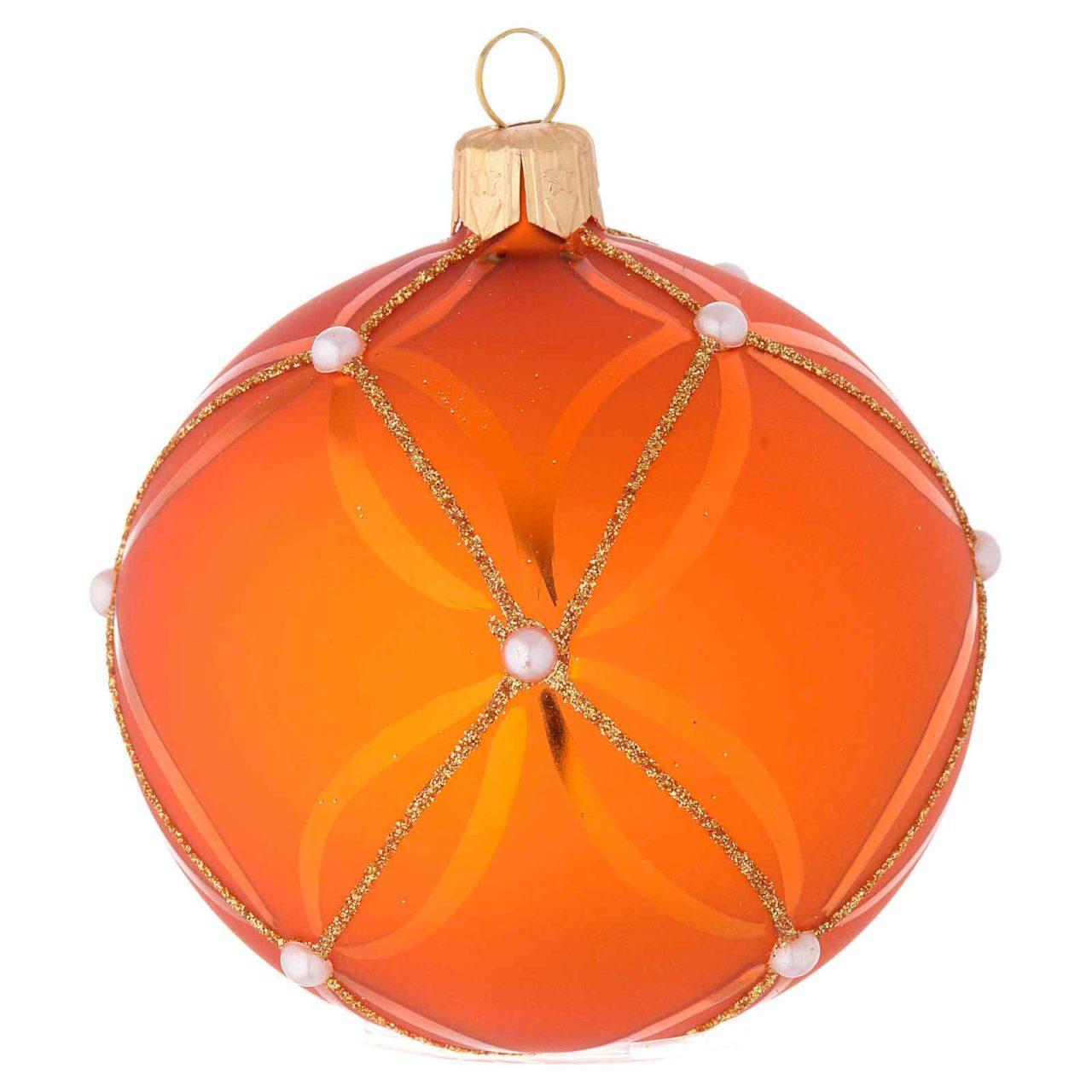 pallina arancione natale 2020