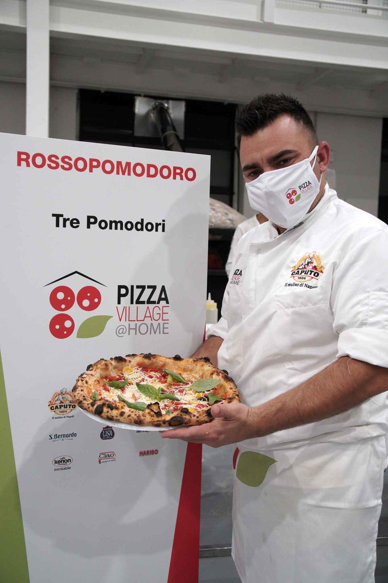 pizza tre pomodori Davide Civitiello