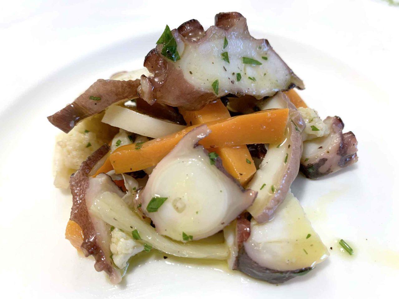 ristorante La Bandiera Abruzzo insalata di mare