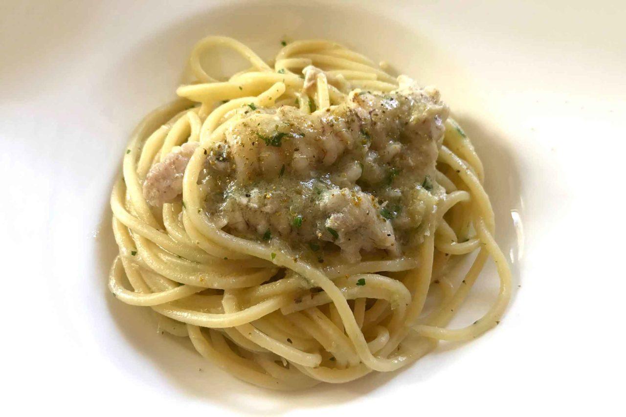 spaghetti con le canocchie Ristorante Rosenbar Gorizia