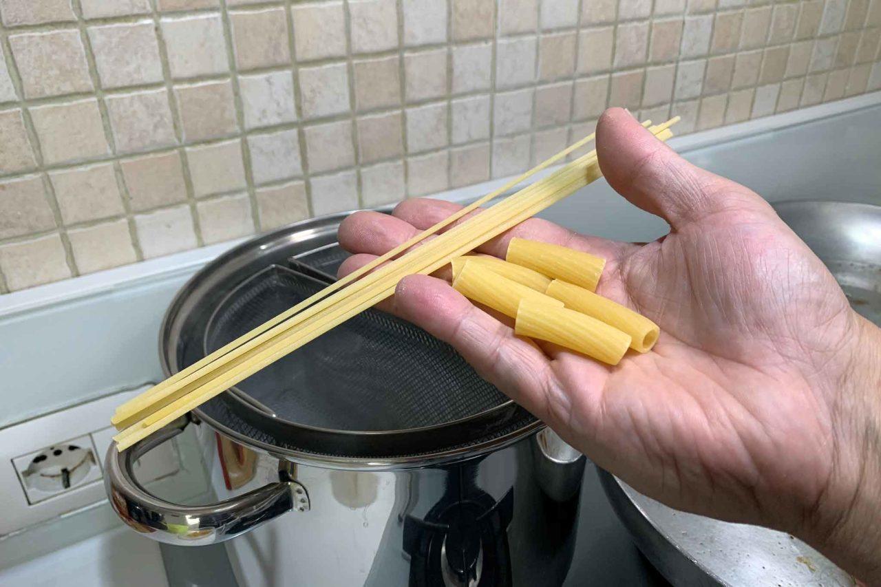 spaghettoni e rigatoni
