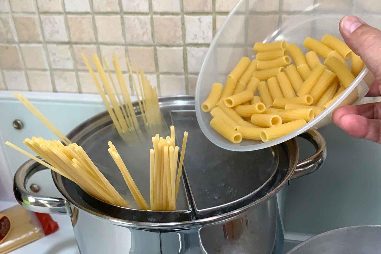 spaghetti e rigatoni