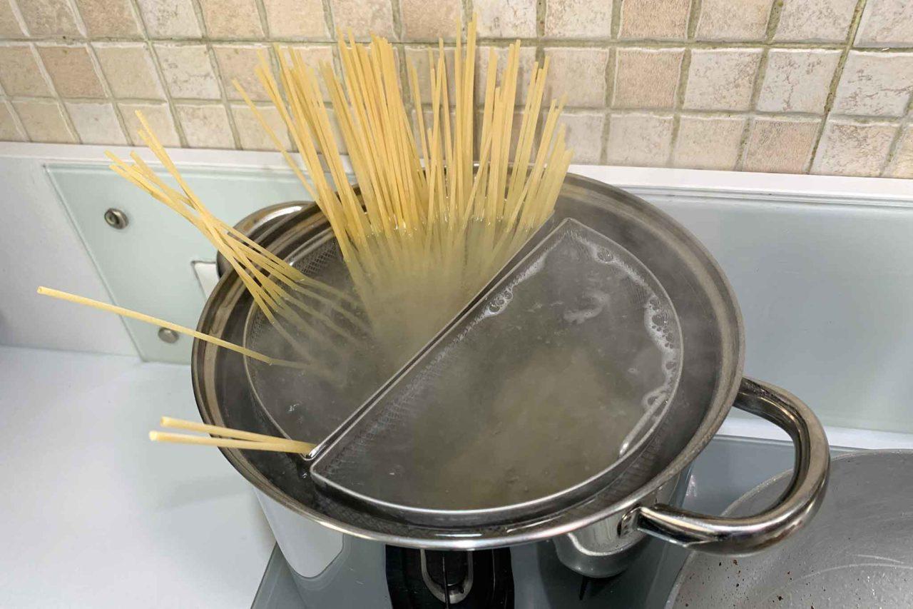 spaghetti in acqua