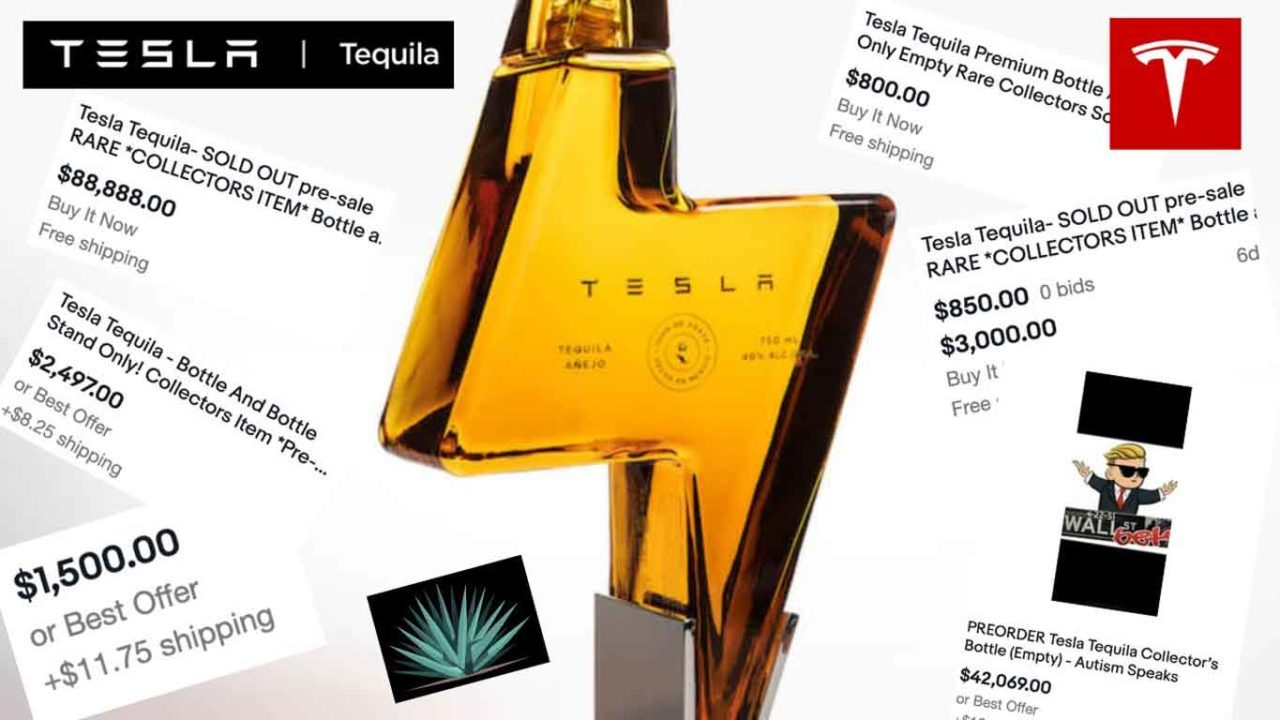 tesla tequila teslaquila vendita