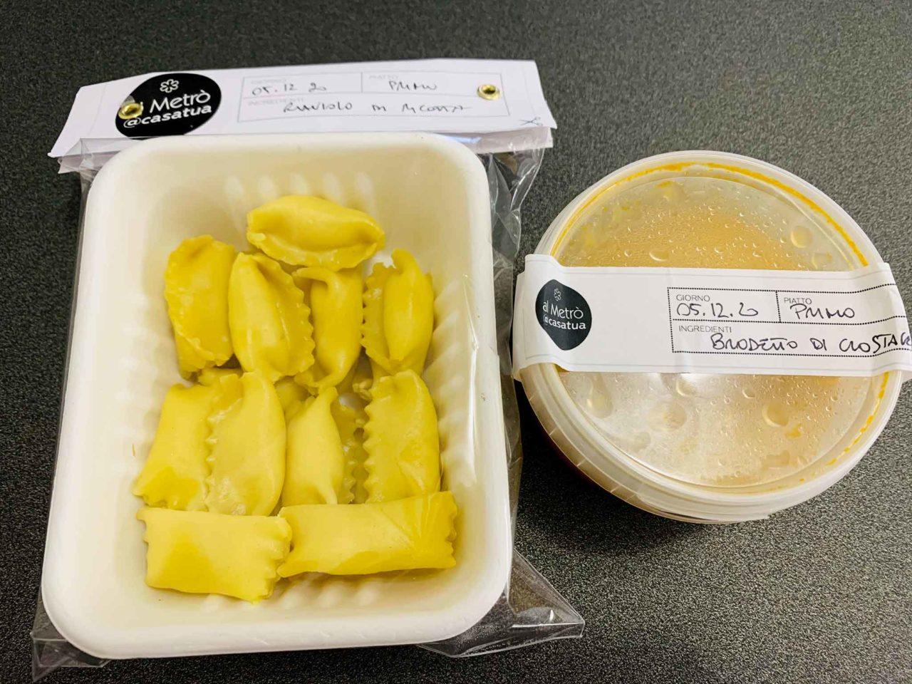 Al Metro ristorante San Salvo delivery ravioli