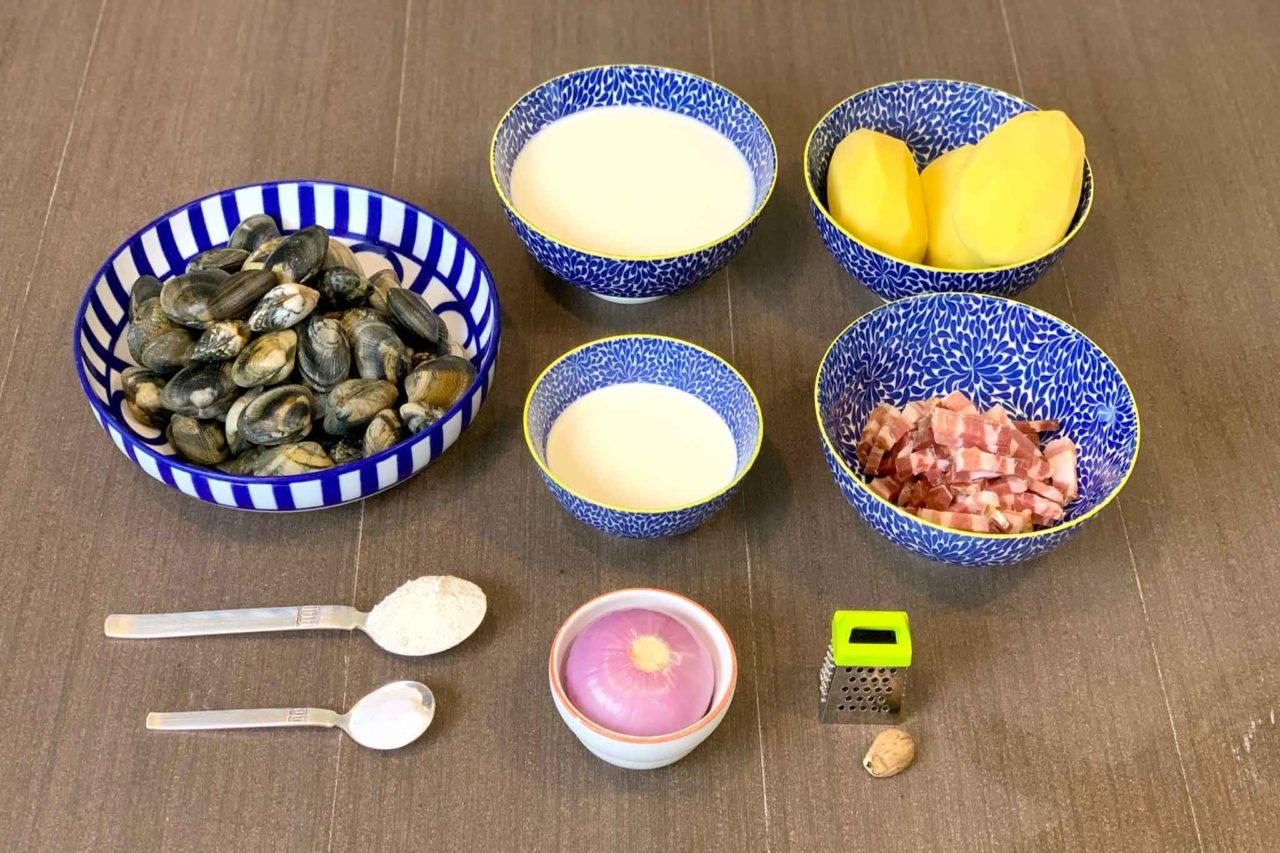 Boston Clam Chowder ingredienti