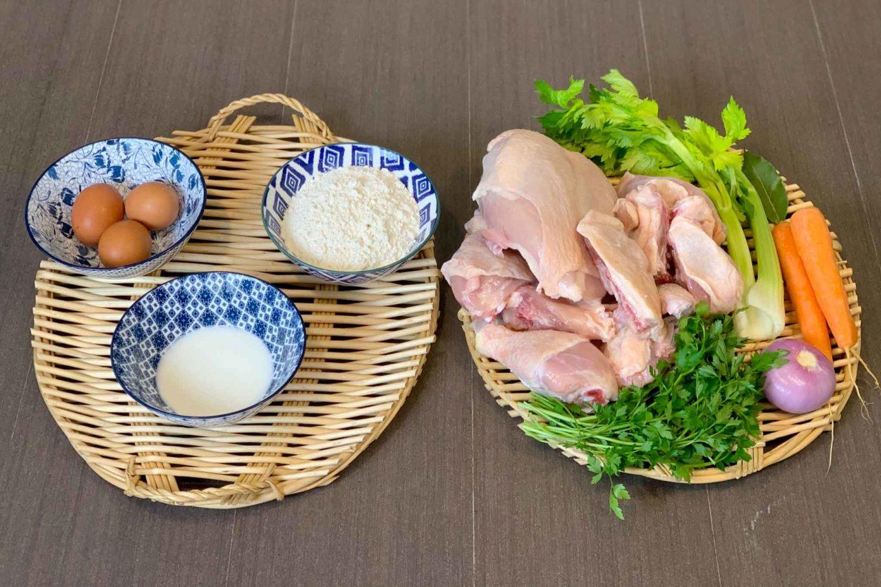 Chicken Pot Pie ingredienti