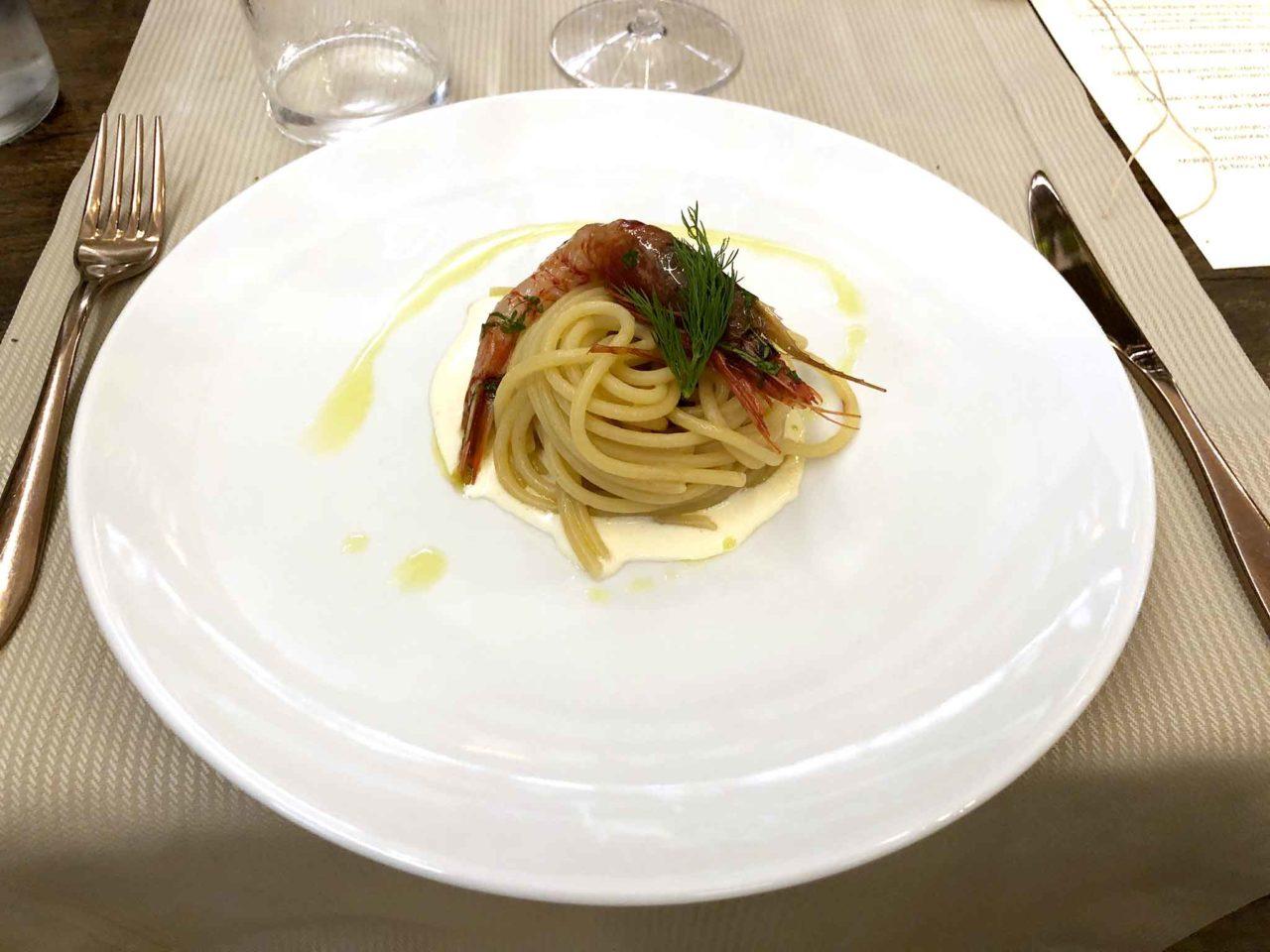Enoteca Verso Roma spaghetti