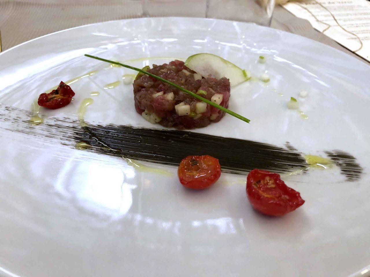 Enoteca Verso Roma tartare di tonno