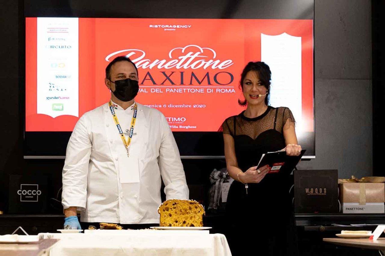 Panettone Maximo Fabrizio Donatone e Sara De Bellis