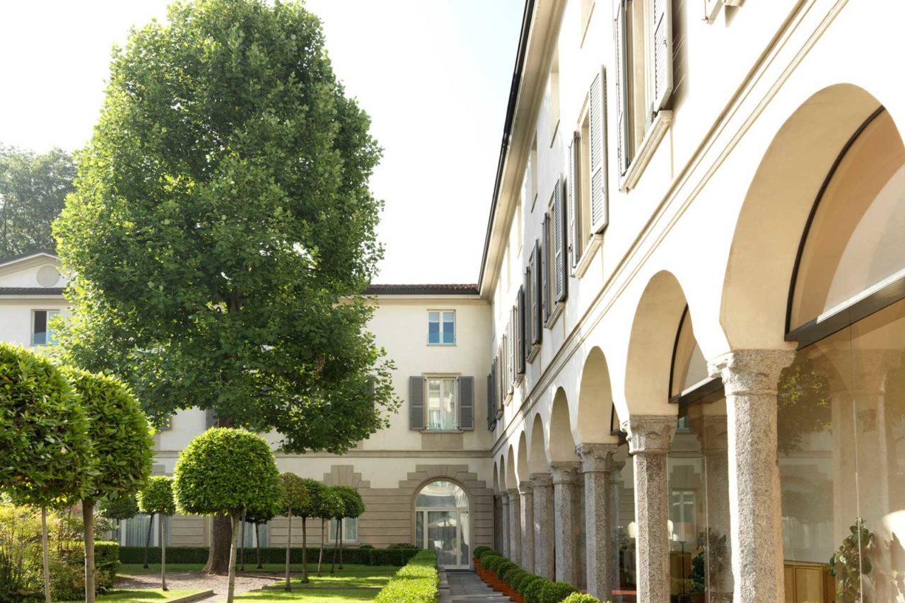 Four Seasons Hotel Milano giardino nuove aperture