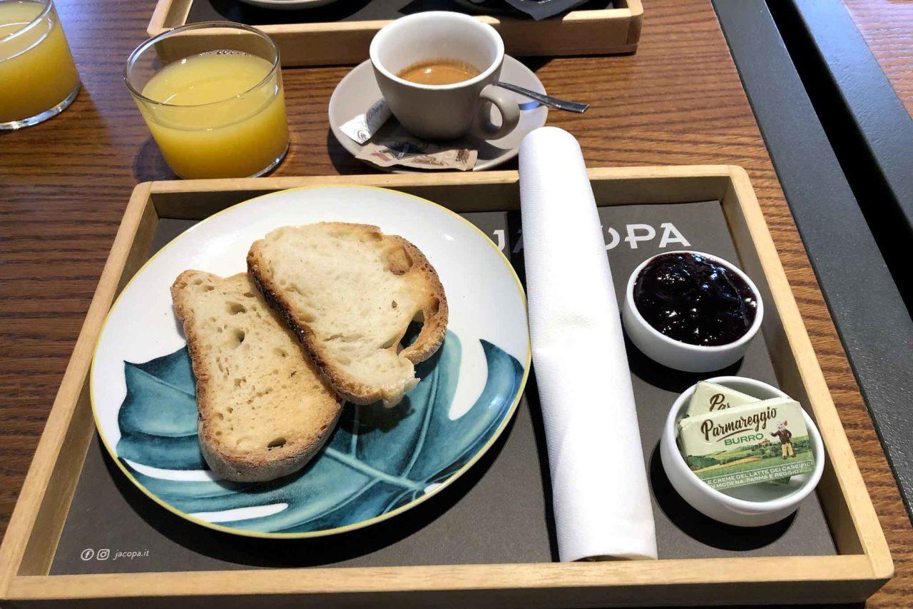 Jacopa ristorante Roma staycation colazione