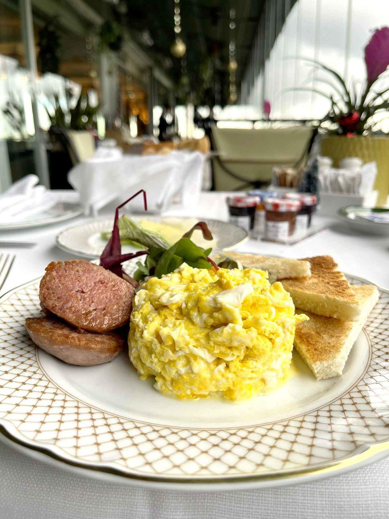 Mirabelle ristorante Roma staycation colazione