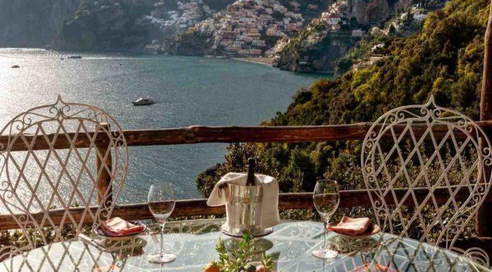 Zass ristorante San Pietro Positano terrazza