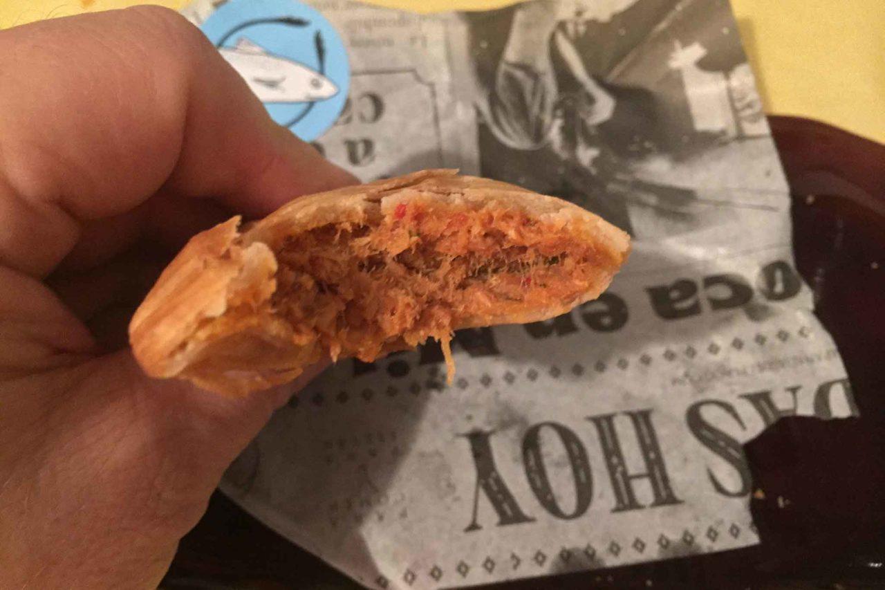 empanadas flaco pescado tonno sezione