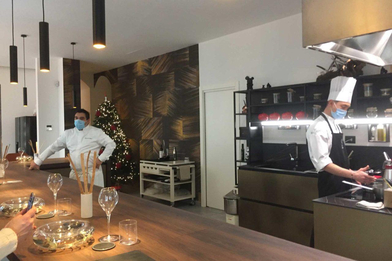felix lo basso milano  chef in cucina