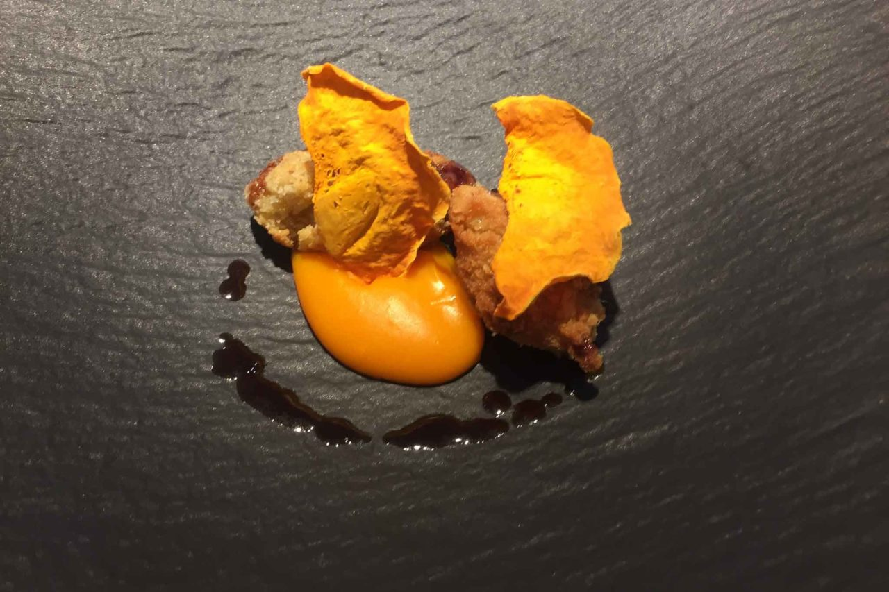 felix lo basso milano crema di zucca al mandarino