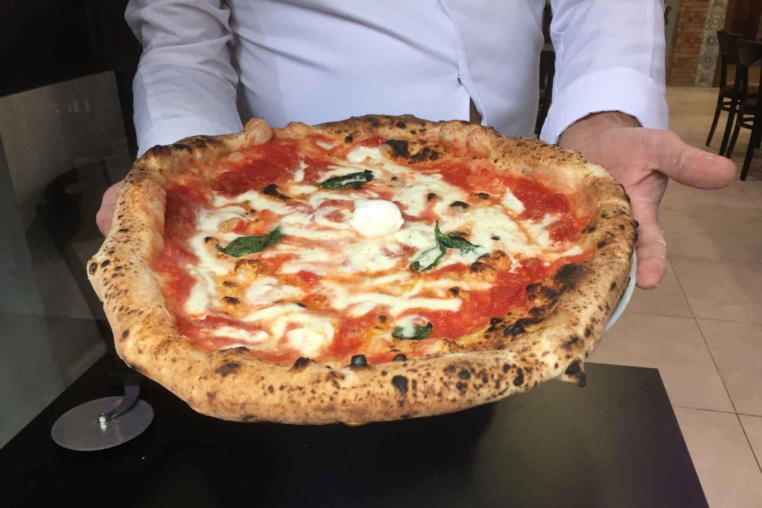 gennaro rapido pizzeria rot carrett pizza margherita