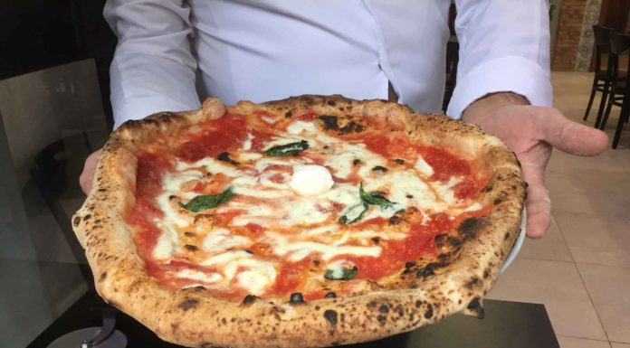 gennaro rapido pizzeria rot carrett pizza margherita