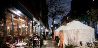 new york ristoranti all'aperto