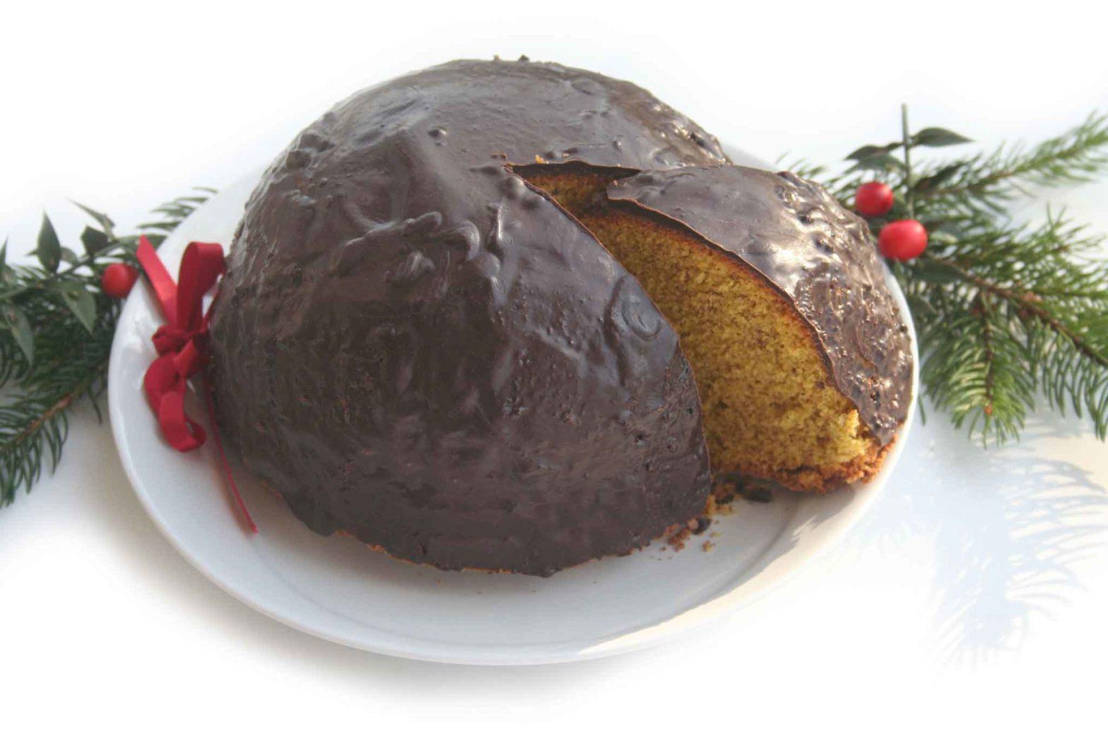 parrozzo dolce tipico Abruzzo Natale