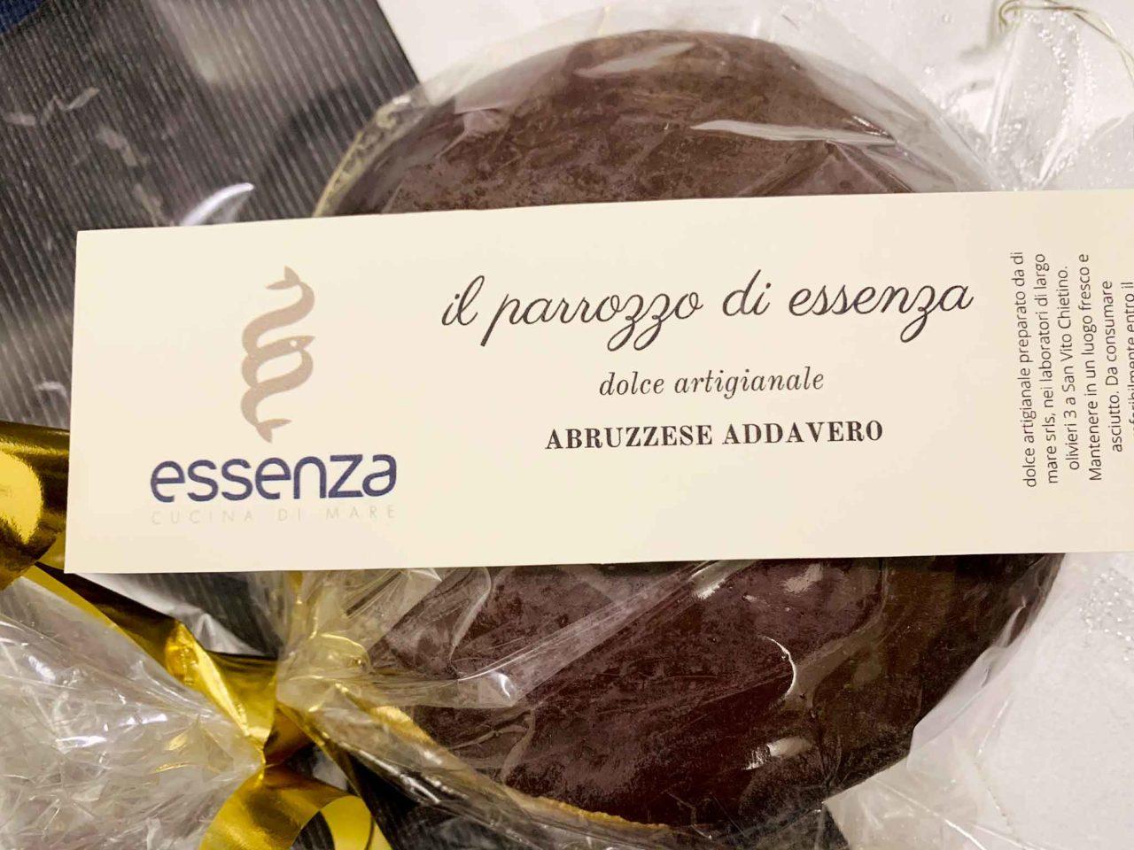 parrozzo di Essenza ristorante Abruzzo