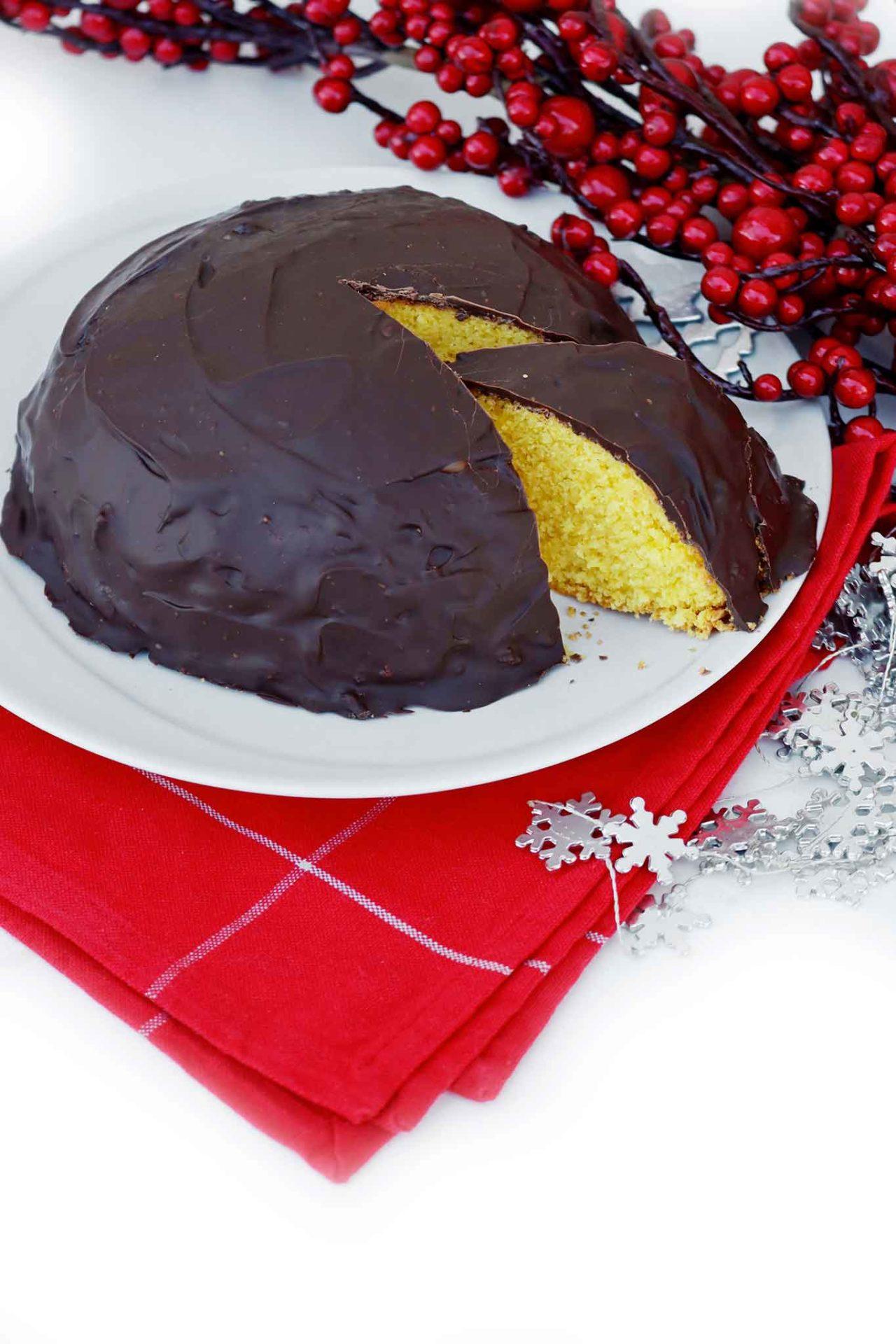 parrozzo dolce tipico Abruzzo del Natale