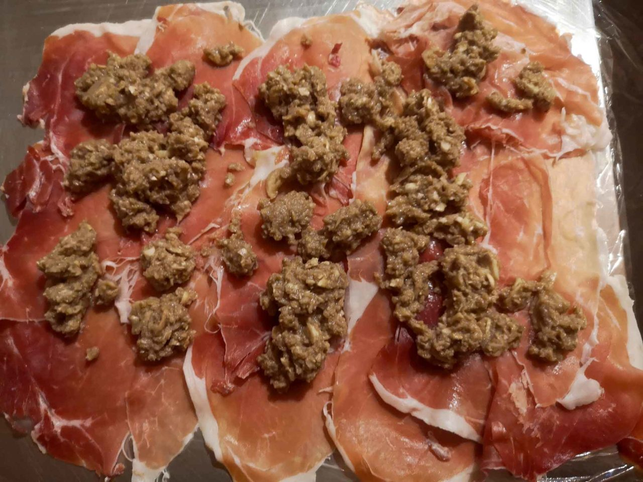 Filetto alla Wellington prosciutto