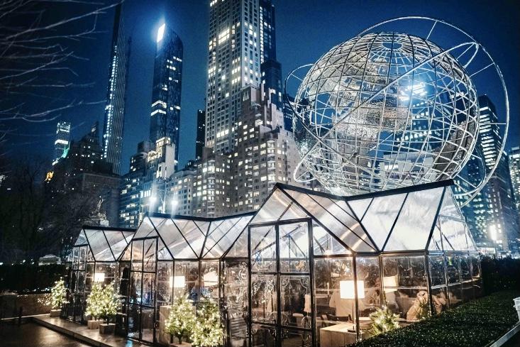 Covid New York ristoranti tensostrutture