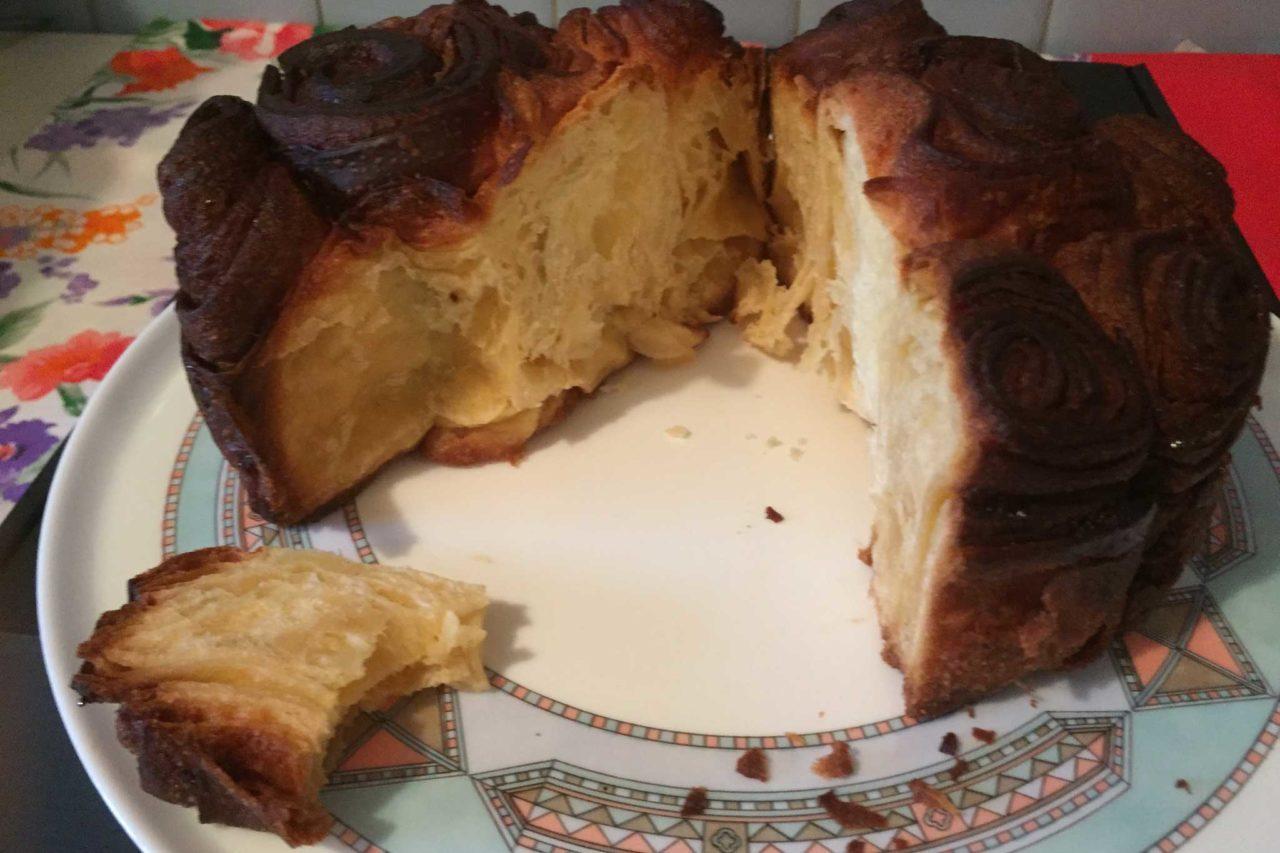 roc gastronomia contraste perdomo torta di rose taglio