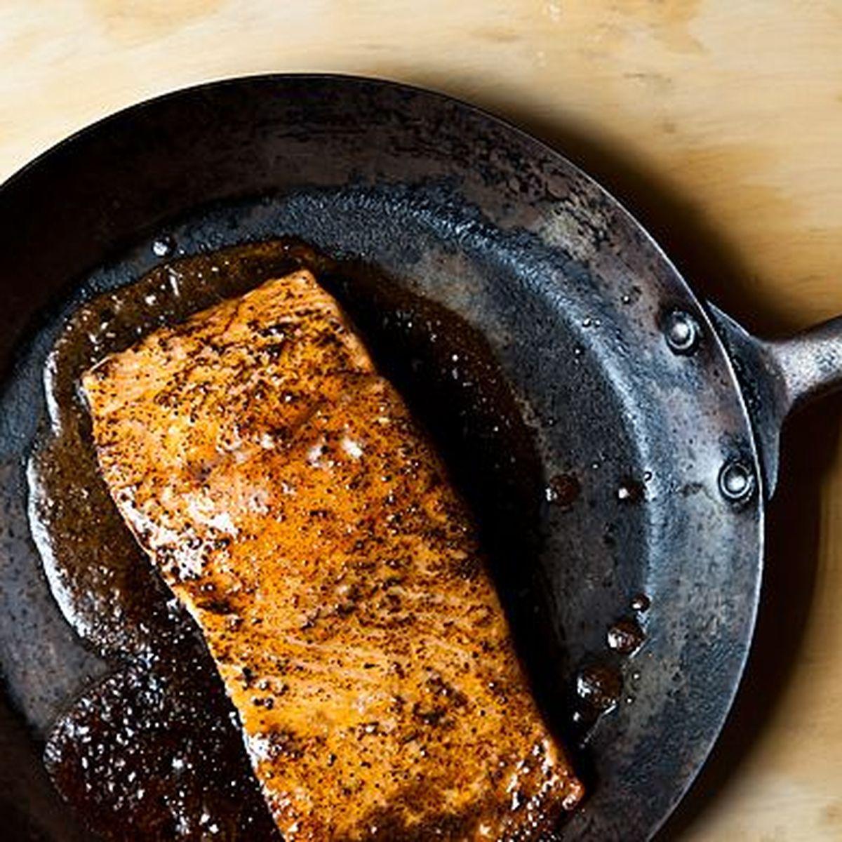 Avanzi di Natale salmone cucinato