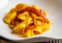 tortelli ricotta bottarga limone Jacopa ristorante Roma staycation