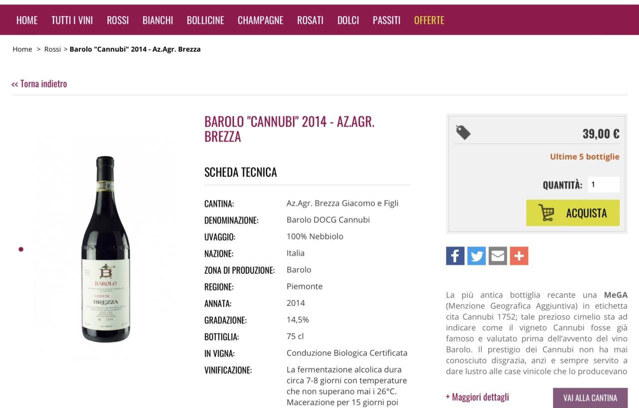 Vino online wineisterroir