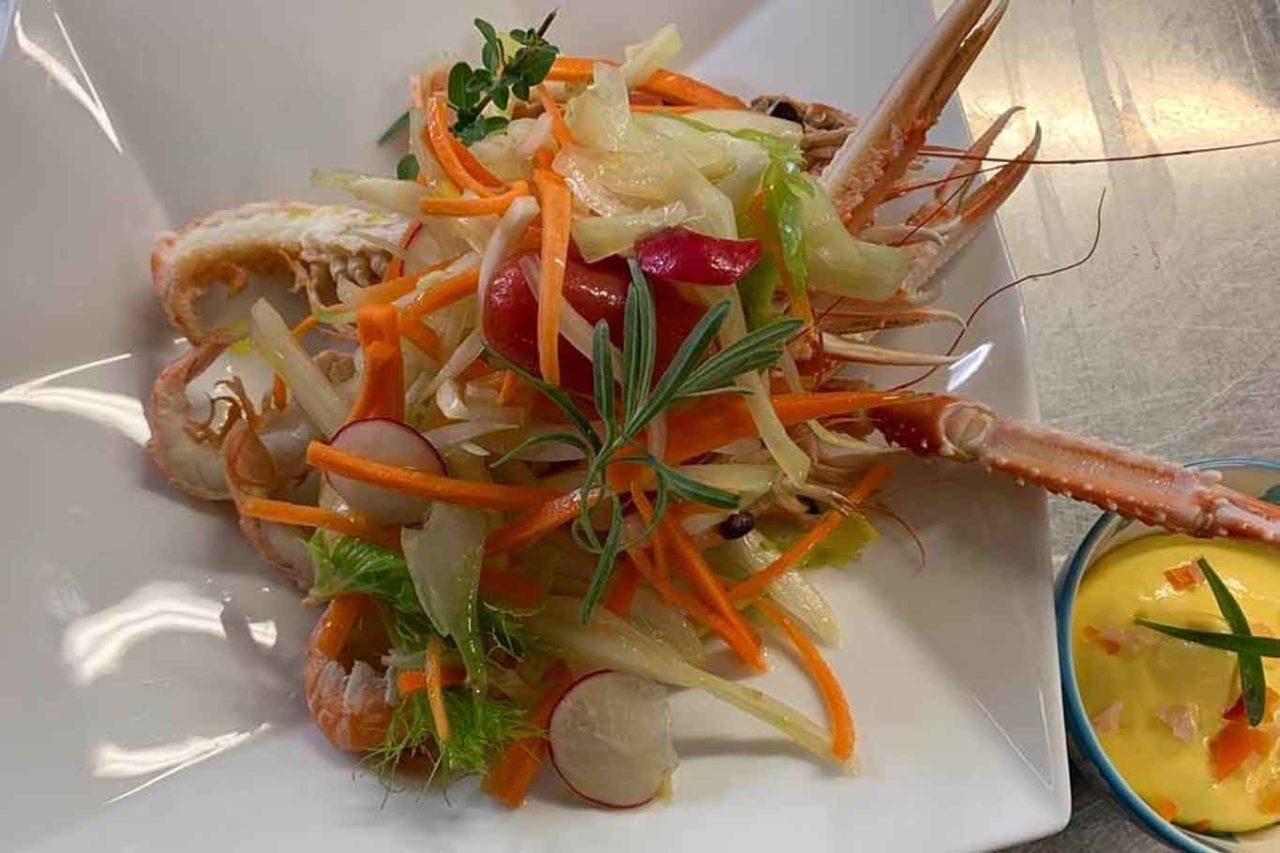 crostacei e verdure gianni d'amato