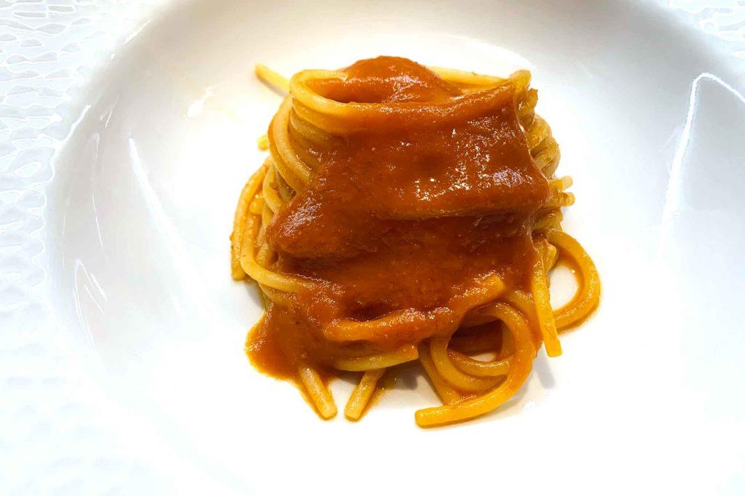 Foodbeats delivery box spaghetto tre pomodori