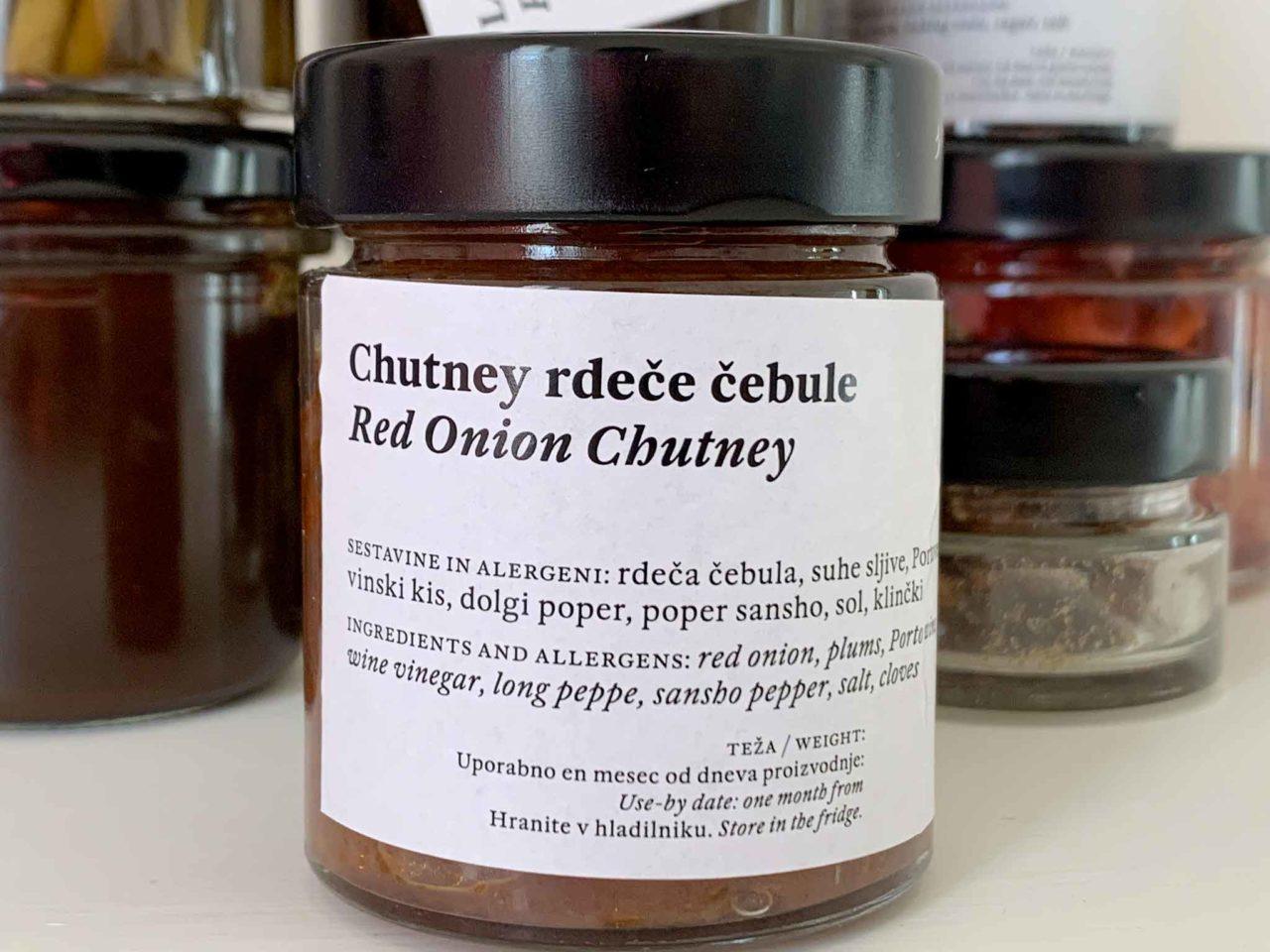 chutney di cipolla rossa