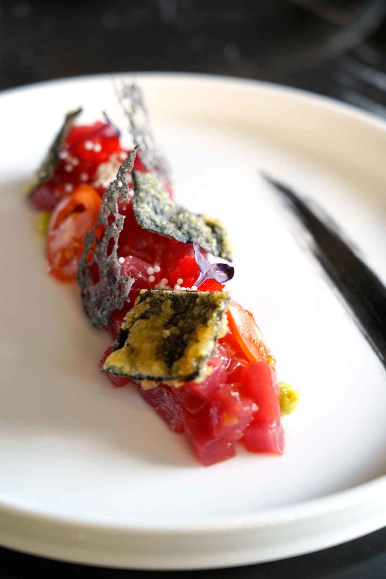 Hoshi ristorante giapponese Agropoli tartare tonno